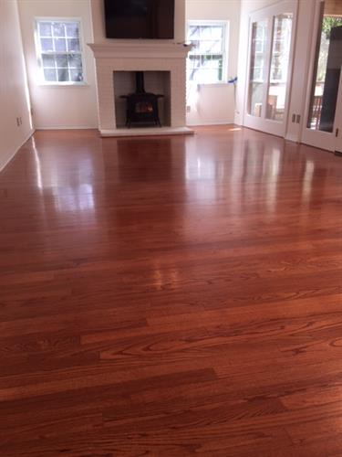 From tile to Hardwood Flooring