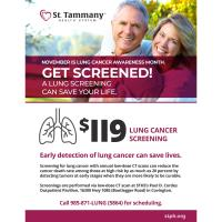 November is Lung Cancer Awareness Month - Get Screened!