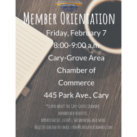 Member Breakfast Orientation-February