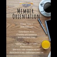 Member Orientation-June