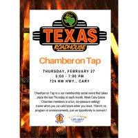 Chamber on Tap-Texas Roadhouse~February