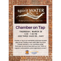 Chamber on Tap-Spirit Water~March