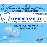 Ribbon Cutting and Open House at Admired Smiles