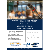 Town Hall Meeting with Mayor Mark Kownick