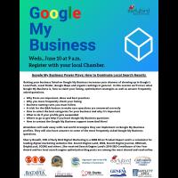 Google My Business Multi-Chamber Webinar