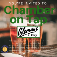 Chamber on Tap-Coleman's in Cary-August