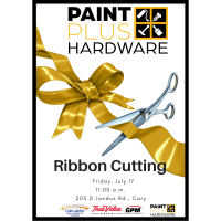 Ribbon Cutting for Paint Plus Hardware