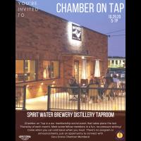 Chamber on Tap-Spirit Water~October