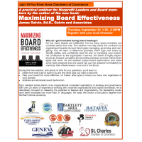 Maximizing Board Effectiveness/FVCL Multi-Chamber Webinar