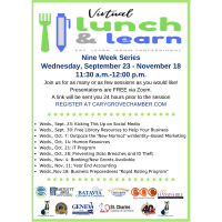 Virtual Lunch & Learn Series from Fox Valley Chamber Leaders