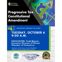 Progressive Tax Constitutional Amendment Multi-Chamber Webinar