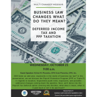 Deferred Income Tax and PPP Taxation Multi-Chamber Webinar
