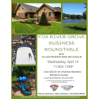 Fox River Grove Business Roundtable with Village President Marc McLaughlin