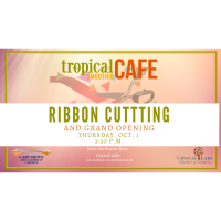 Ribbon Cutting at Tropical Smoothie Cafe