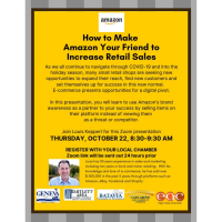 """How to Make Amazon Your Friend"" Multi-Chamber Webinar"