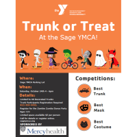 Trunk or Treat at Sage YMCA!