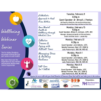 Wellbeing Webinar Series from the Fox Valley Chambers
