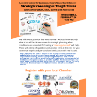 Strategic Planning in Tough Times Multi-Chamber Webinar