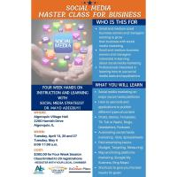 Social Media Master Class for Business