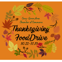 Cary-Grove Area Chamber of Commerce Thanksgiving Food Drive