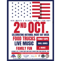 Red, White and Blue's Family Fun Day
