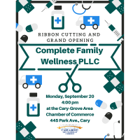 Ribbon Cutting & Grand Opening for Complete Family Wellness PLLC