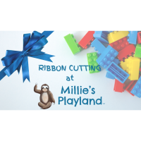 Ribbon Cutting at Millie's Playland