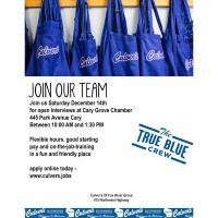 Culver's of Fox River Grove is Hiring!