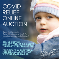 Home of the Sparrow's Covid Relief Online Auction