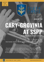 Cary-Grovinia at SSPP - a Ravinia-style Outdoor Concert at SS. Peter & Paul Catholic Church