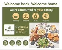 Panera Bread Dining Room Is Open