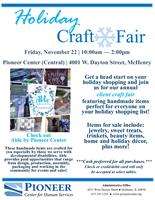 Pioneer Center's Holiday Craft Fair