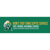Ribbon Cutting Celebrating Ron's Tidy Tank Septic Services