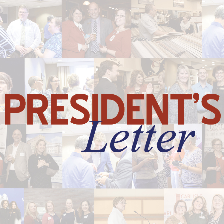 Image for President's Letter: Top 10 Reasons to Join Your Local Chamber of Commerce