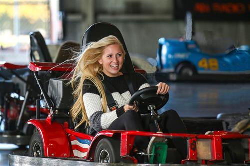 Indoor Fast Track Go Kart Track
