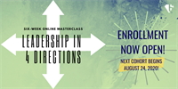 Leadership in 4 Directions Masterclass - Live Virtual Professional Development Program