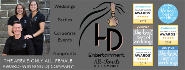 HD Entertainment, The Area's Only All-Female Award-Winning DJ Company