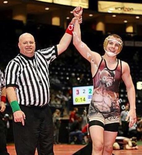 2x Ohio state champion, 3x finalist, 4x place Gaige Willis trained though H&R Next Level Sports.