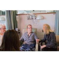 Wellspan President and CEO surprises oncology patient with holiday cheer