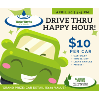 Drive Thru Happy Hour - WaterWerks Car Wash