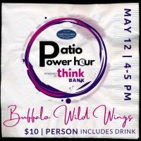 Patio Power Hour ~ Buffalo Wild Wings