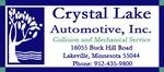 Crystal Lake Automotive, Inc.