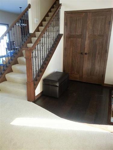Carpet and Hardwood