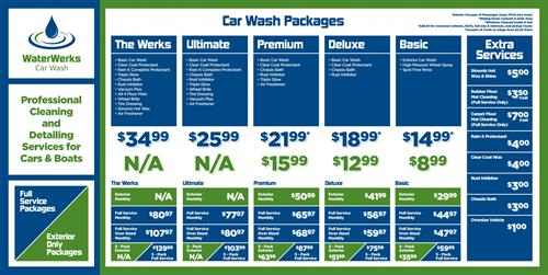 Car Wash Pricing