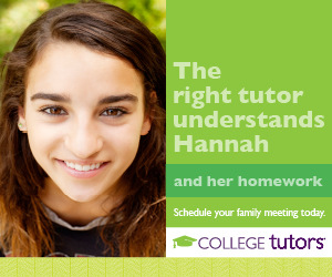 We match your child with a tutor who understands their needs.
