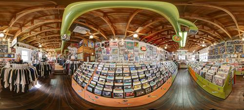 Panoramic photo of Dr. Strange Records - Rancho Cucamonga, CA