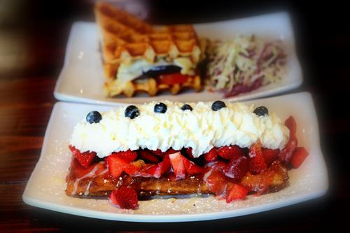 Food Photography - Wahfles Cafe - La Verne, CA