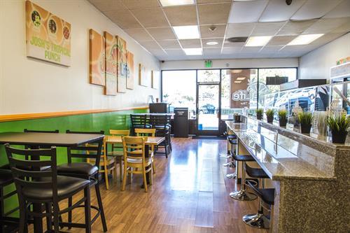 Restaurant Interior - Juice Life - Ontario, CA