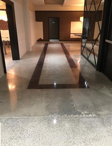 Bardot Restaurant Concrete Polishing