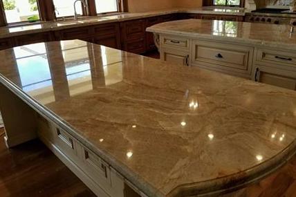 Marble Counter Polishing